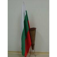 Българско знаме, 50 х 80 см, с пръчка
