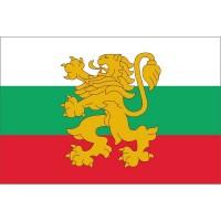 Българско знаме с лъв, 90 x 150 см, с джоб
