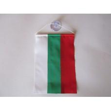 Българско знаме, 9 х 13 см, за автомобил