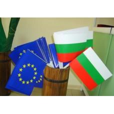 Български хартиени знаменца, размер 16 x 22 см