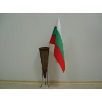 Българско знаме, 30 х 50 см, с пръчка