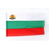 Българско знаме, 90 х 150 см, с Герб