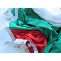 Българско знаме, 70 х 120 см, за пилон, с карабинки