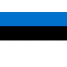 Знаме на Естония, размер 90 х 150 см
