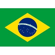 Знаме на Бразилия, размер 90 x 150 см