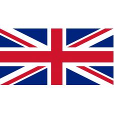 Знаме на Великобритания, размер 90 х 150 см