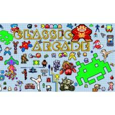 Геймърско знаме Classic Arcade Games, 70 x 120 см, за стена