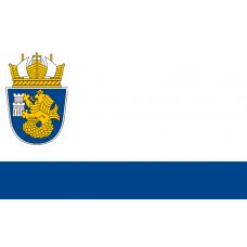 Знаме на Община Бургас, 90 х 150 см
