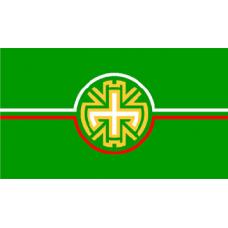 Знаме на Община Димитровград, 90 х 150 см