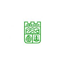 Знаме на Община Джебел, 90 х 150 см