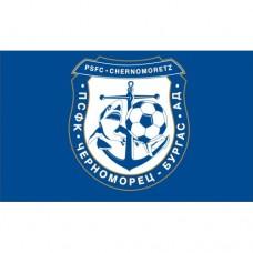Знаме на ПСФК Черноморец, 90 x 150 см, с джоб