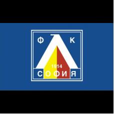 Знаме на ПФК Левски София, 90 x 150 см, с джоб