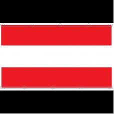 Спортно знаме, 150 x 250 см, с капси
