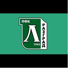 Знаме на ПФК Лудогорец, 90 x 150 см, с джоб