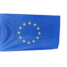 Знаме на Европейски съюз, 70 x 120 см, за пилон, с карабинки