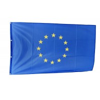 Знаме на Европейски съюз, 70 x 120 см, за пилон, с капси