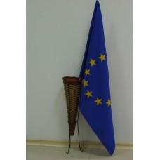 Знаме на Европейски съюз, 50 х 80 см, с пръчка