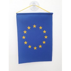 Знаме на Европейски съюз, 10 х 15 см за автомобил