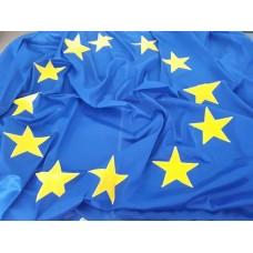 Знаме на Европейски съюз, 130 х 215 см, за пилон, с карабинки