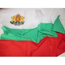 Българско знаме, 70 х 120 см, с Герб